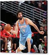 La Clippers V Chicago Bulls Acrylic Print