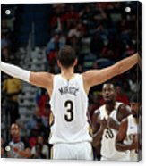 La Clippers V New Orleans Pelicans Acrylic Print