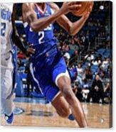La Clippers V Orlando Magic Acrylic Print