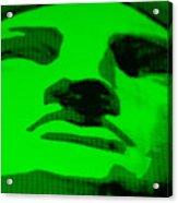 Lady Liberty In Green Acrylic Print