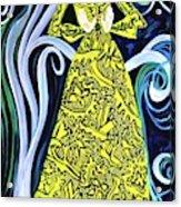 Lady Lou Acrylic Print