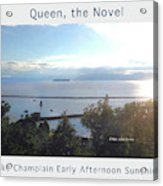 Lake Champlain Early Afternoon Sunshine Enhanced Poster Acrylic Print