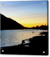 Lake Cuyamaca Sunset Acrylic Print