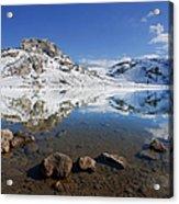 Lake La Ercina Acrylic Print