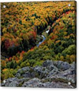 Lake Of The Clouds 7 Acrylic Print