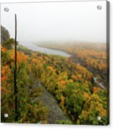 Lake Of The Clouds 9 Acrylic Print