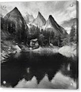 Lake Verde In The Alps IIi Acrylic Print