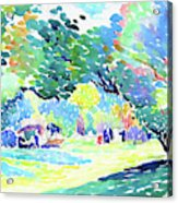Landscape - Digital Remastered Edition Acrylic Print