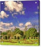 Landscape Gardening Acrylic Print