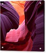 Landscape Image Of Lower Antelope Acrylic Print