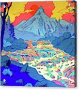Landscape River Acrylic Print