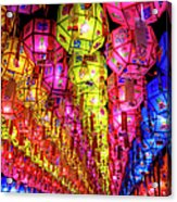 Lanterns Hanging Acrylic Print