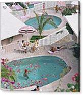Las Brisas Hotel Acrylic Print
