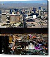 Las Vegas Night And Day Work A Acrylic Print