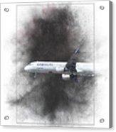 Latam Brasil Airbus A321-211 Painting Acrylic Print