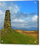 Latterbarrow In Lake District National Park Cumbria Acrylic Print