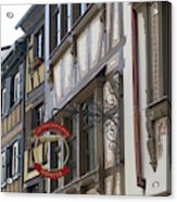 Le Tire Bouchon Winstub Sign Acrylic Print