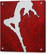 Leap Of Faith Original Painting Acrylic Print