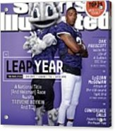 Leap Year 2015 College Football Preview Issue Sports Illustrated Cover Acrylic Print