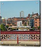 Leeds Waterfront Developments Acrylic Print