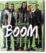 Legion Of Boom, Super Bowl Xlix Preview Sports Illustrated Cover Acrylic Print