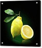 Lemon Slice Acrylic Print