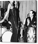 Lena Horne Sings Acrylic Print