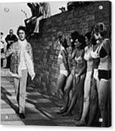 Lennon And Ladies Acrylic Print