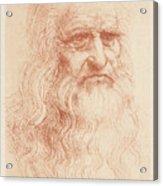 Leonardo Da Vinci 1452-1519, Italian Acrylic Print