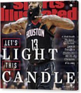Lets Light This Candle Sports Illustrated Cover Acrylic Print