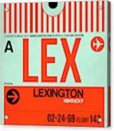 Lex Lexington Luggage Tag I Acrylic Print