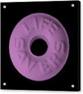 Life Savers Pink Lemonade Acrylic Print