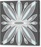 Light Blue Gray Tile Acrylic Print