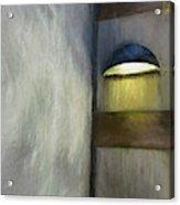 Light In Corner Acrylic Print