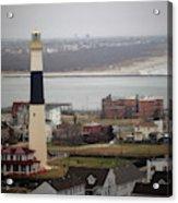 Lighthouse - Atlantic City Acrylic Print