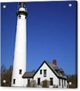 Lighthouse - Presque Isle Michigan Acrylic Print