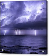 Lighting Sea Acrylic Print