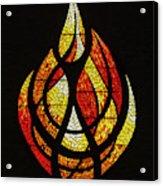 Lighting The Way - Wayland Kaltwasser Flame Acrylic Print