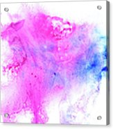 Lilac Blot Acrylic Print