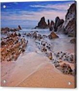 Little Corona Del Mar Beach Vi Acrylic Print