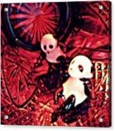 Little Glass Pandas 33 Acrylic Print