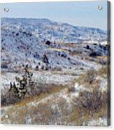 Little Missouri Winter Prairie Acrylic Print