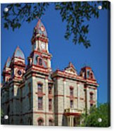 Lockhart Courthouse Acrylic Print