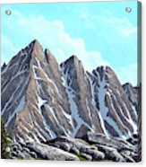 Lofty Peaks Acrylic Print