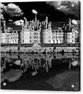 Loire Castle, Chateau De Chambord Acrylic Print