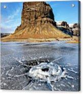 Lomagnupur Mountain Iceland Acrylic Print