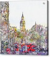 London Street 1 Acrylic Print