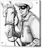 Lone Ranger Acrylic Print