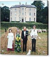 Longfield House And Staff Acrylic Print