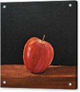 Lopsided Apple Acrylic Print